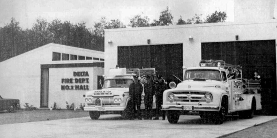 north delta fire hall no. 3 on 84th avenue