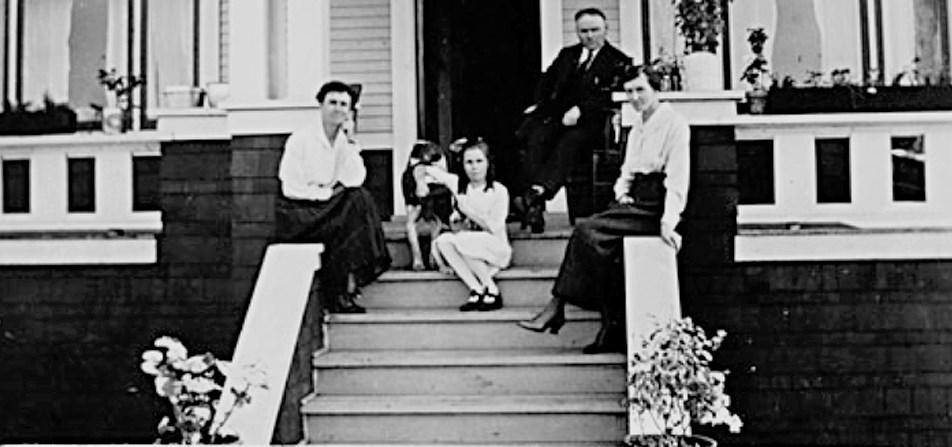The McKenzie Residence in Ladner, 1923