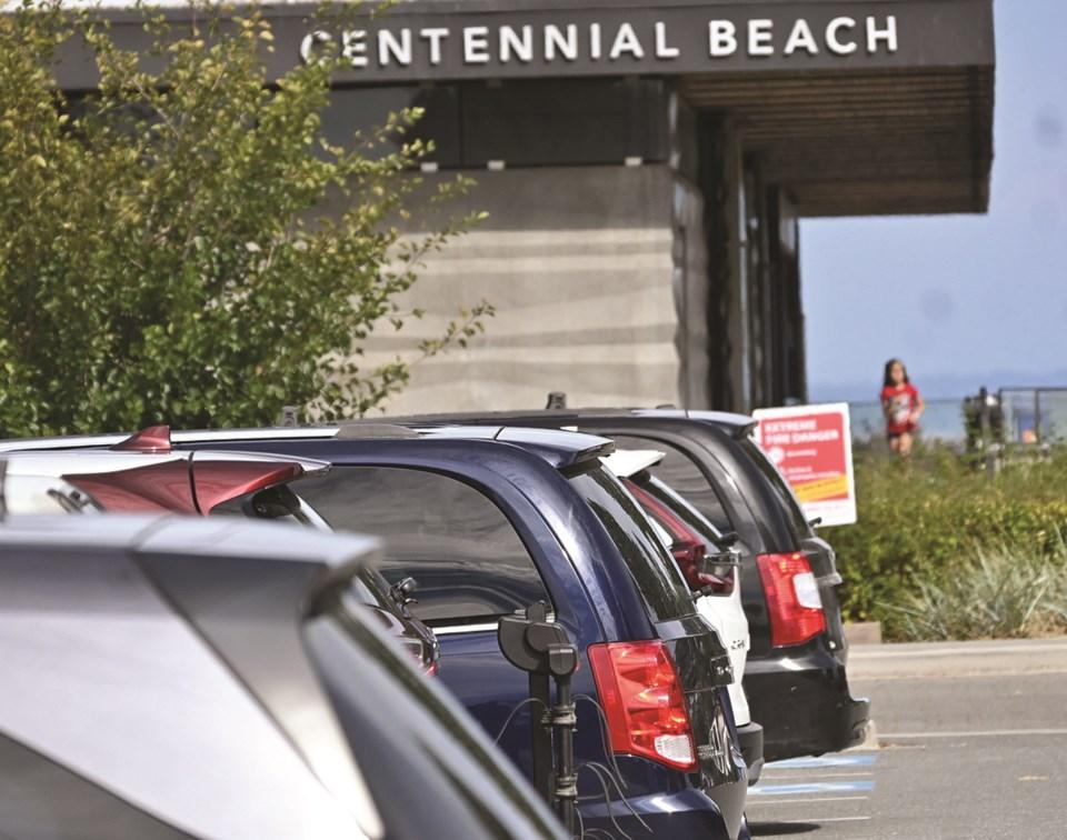 Boundary Bay parking 2