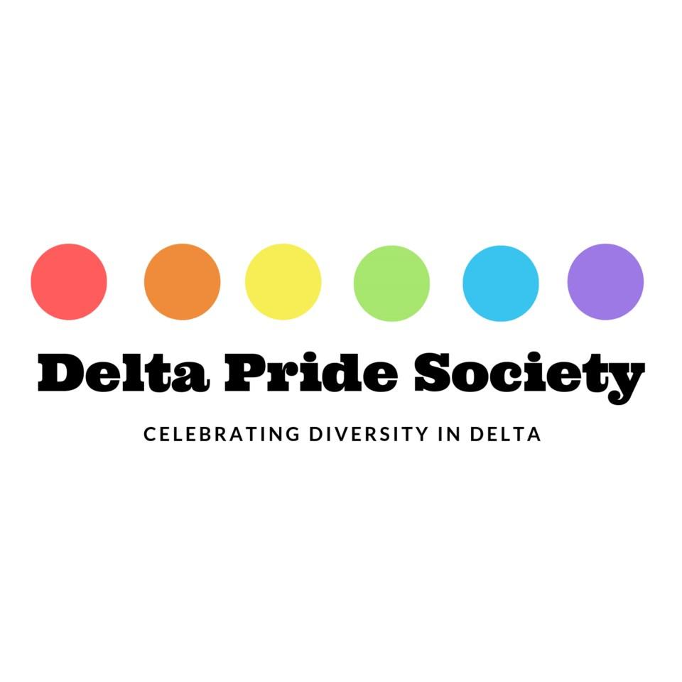 Delta Pride society logo