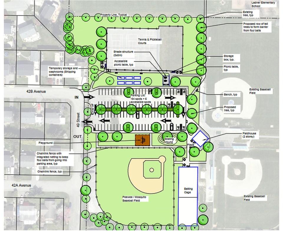 cromie park plan, delta bc
