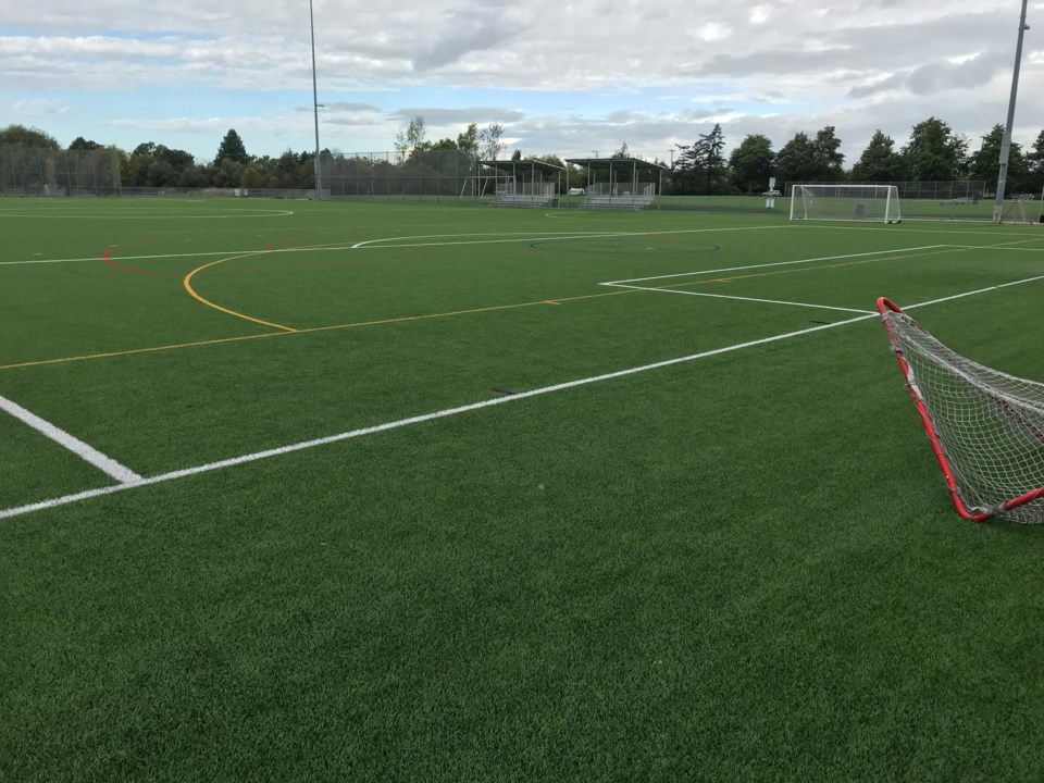 delta artificial turf playing fields holly park