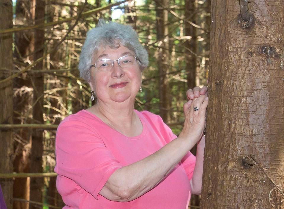 Burns Bog Conservation Society president Eliza Olson