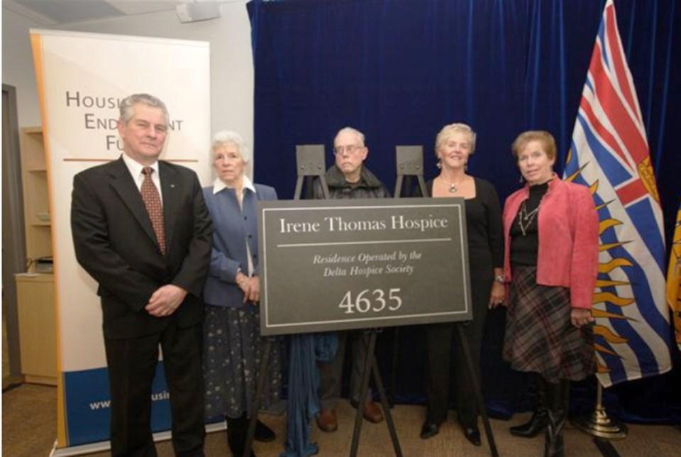 Delta Hospice donors John Thomas