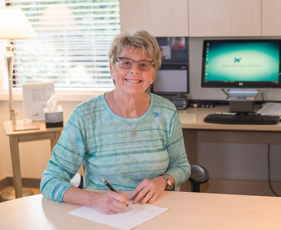 delta hospice society founder nancy macey