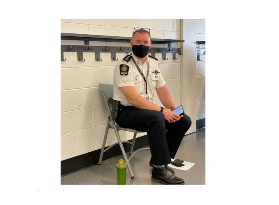 Delta police insp. Ciaran Feenan