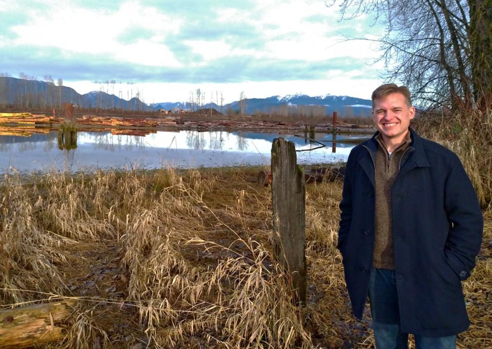 Derek Zeisman President of  Burns Bog Conservation Society