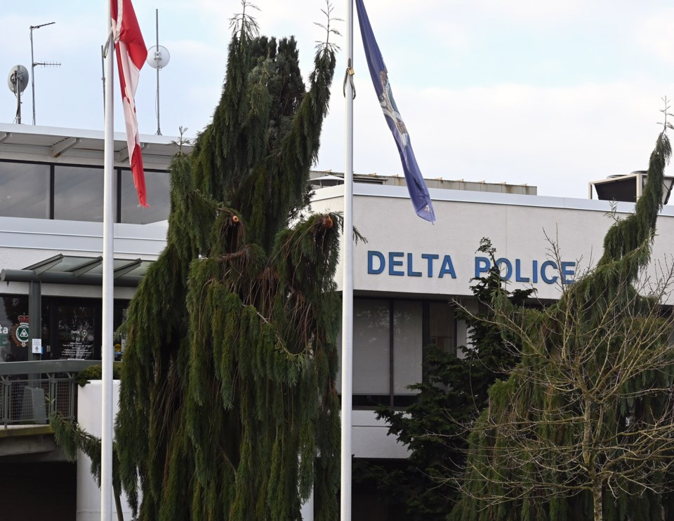 Delta Police headquarters