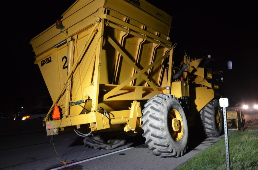 Farm vehicle Oct. 1 collision