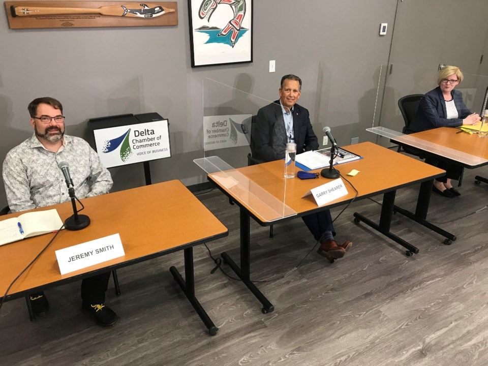 Delta Chamber of Commerce 2021 federal election candidates debate