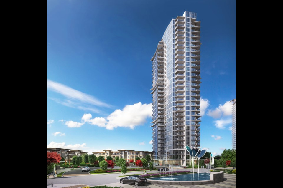 Soaring above the slopes of South Burnaby, award-winning Ledingham McAllister's Azure.