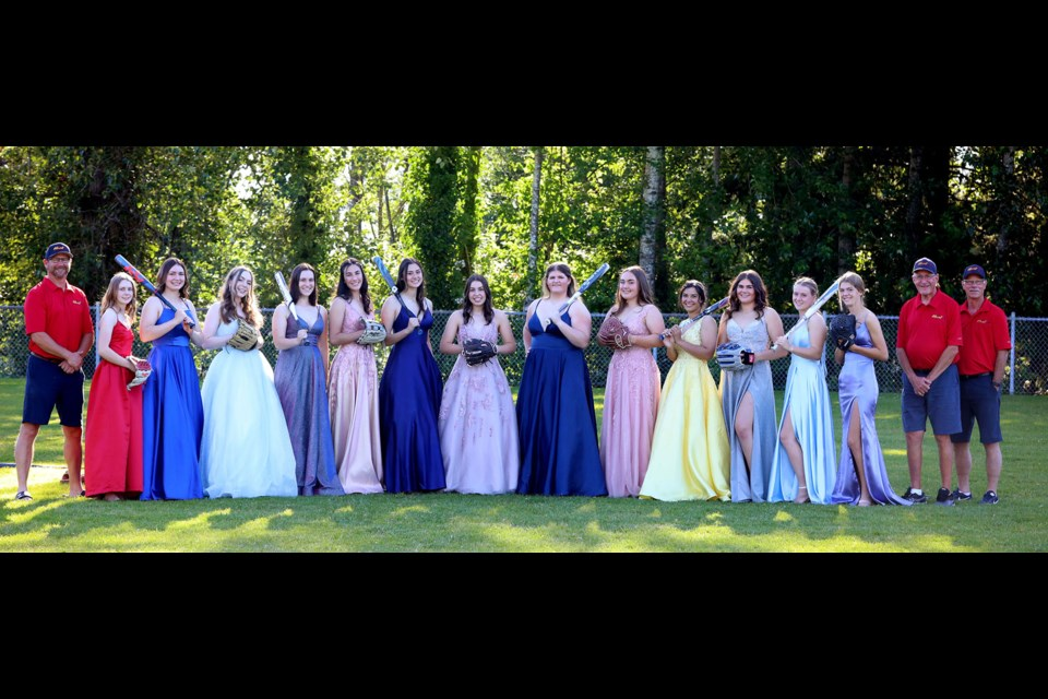 It was a special night last month for the 2003 Delta Heat fastpitch team as the girls got together in their grad dresses.