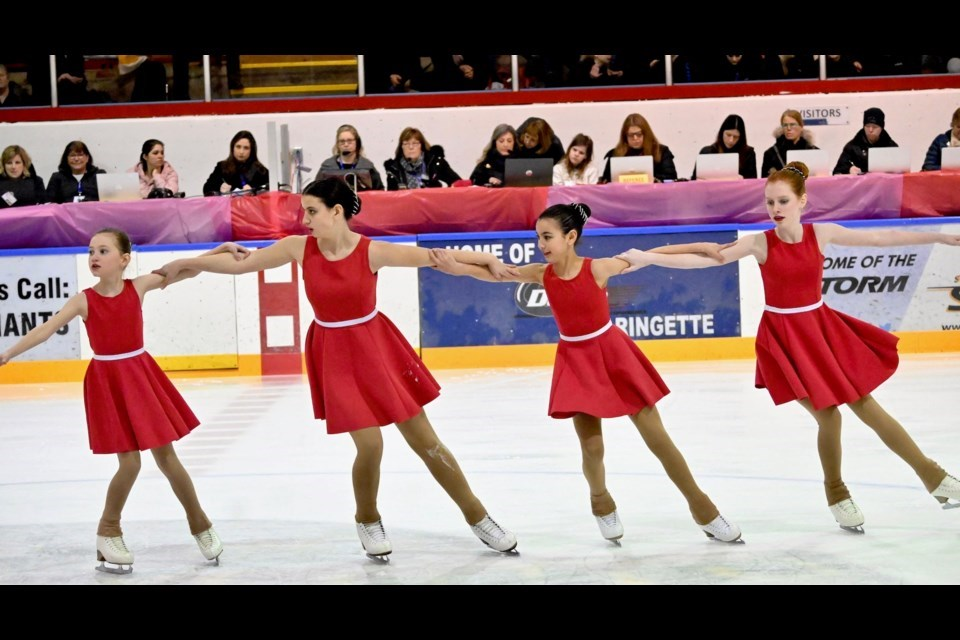 Leeza Shehkhter is now director of skating for the Delta Skating Club that features a variety of programs including synchronized skating.