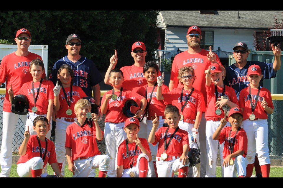 The 9U Red Sox Summer Ball team went undefeated to win the Andrews Invitational Tournament in Cloverdale.