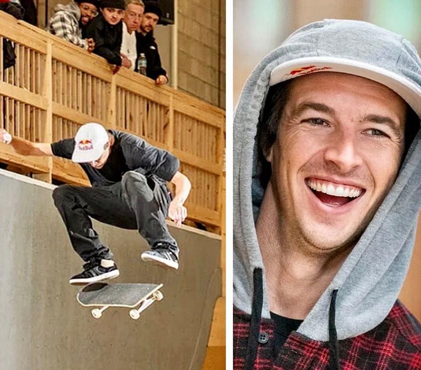 Ryan skateboarder