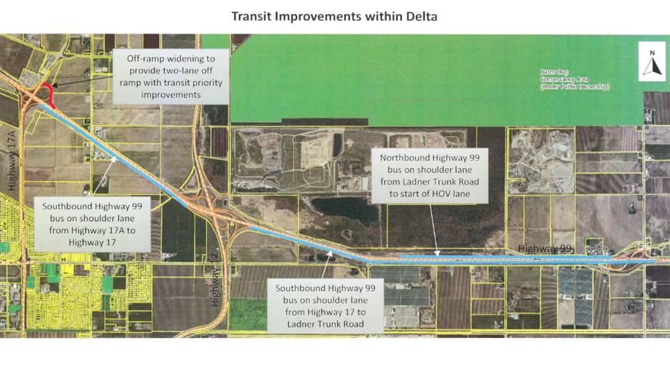 delta highway transit improvements