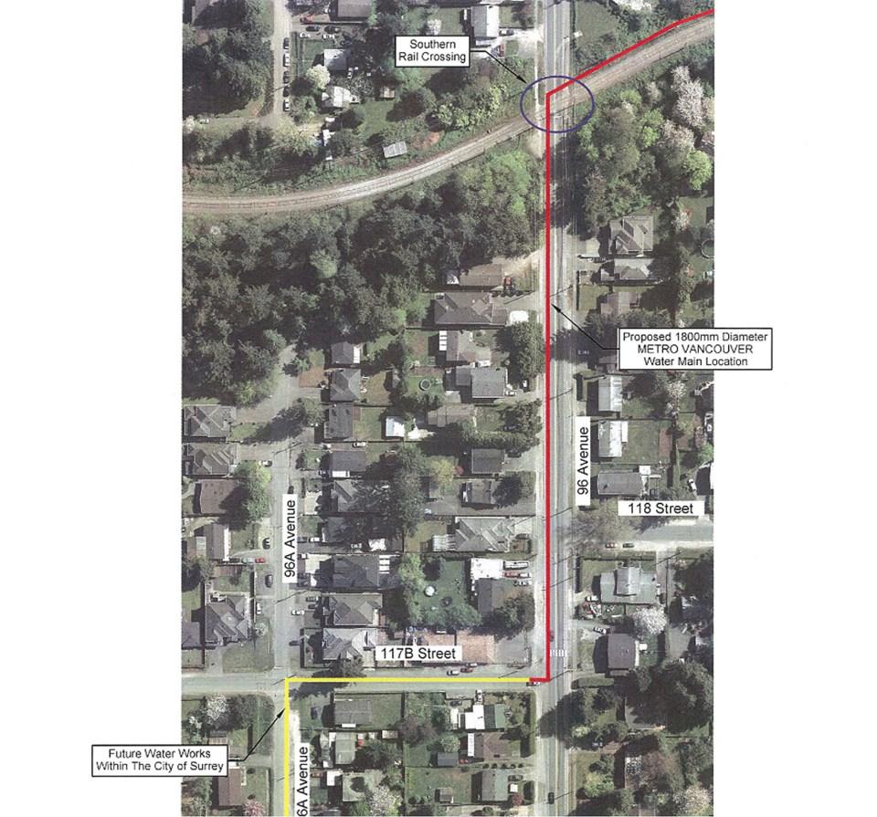 north delta road closure july 2021