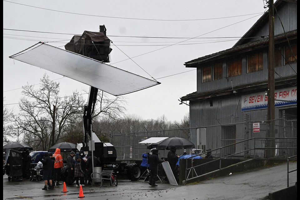 The Netflix production Lost Ollie recently wrapped up shooting in Ladner Village, as the film and TV industry has really amped up in Delta since the COVID-19 restrictions were eased last summer.