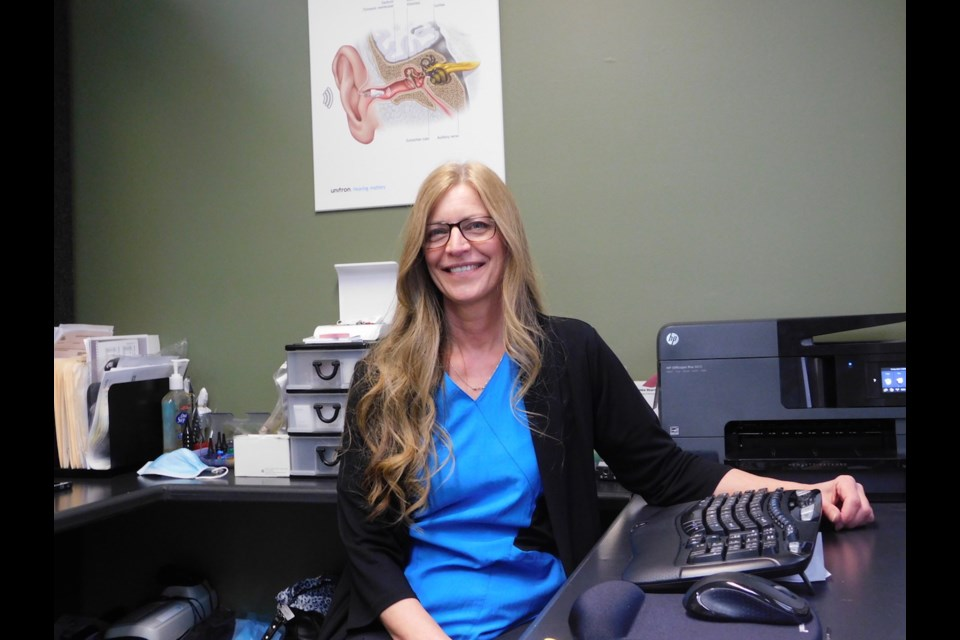 Algoma Hearing Centre co-owner and Audiologist Patricia Van Hoof.