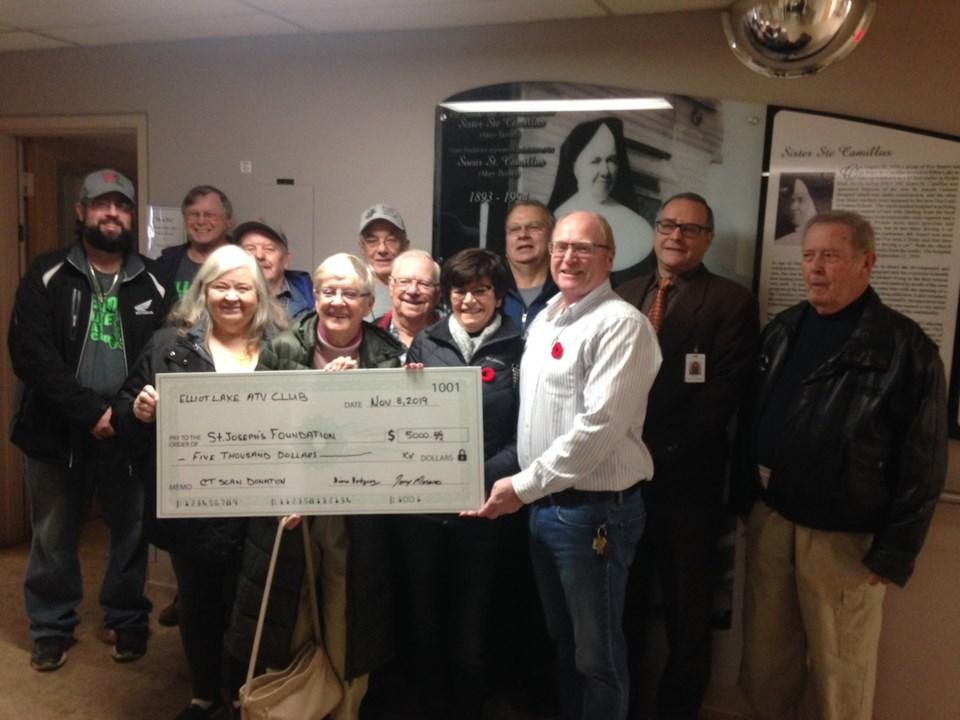 2019-11-08 ATV Club hospital donation KS 1