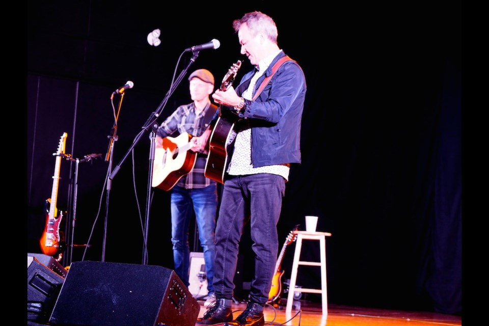 Jimmy Rankin and Jamie Robinson. Kris Svela for ElliotLakeToday