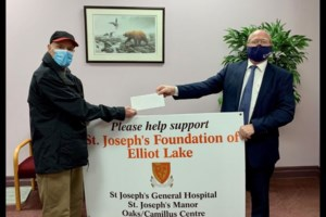 Pair of donations, including one for $25,000, received by local hospital
