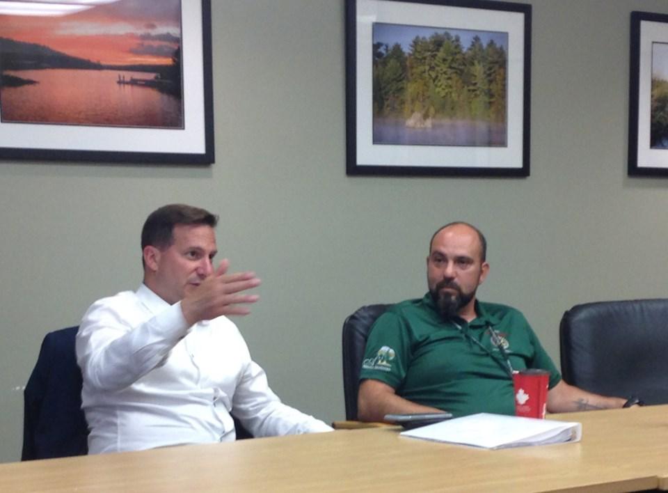 2019-07-04 Federal Minister Elliot Lake Visit KS