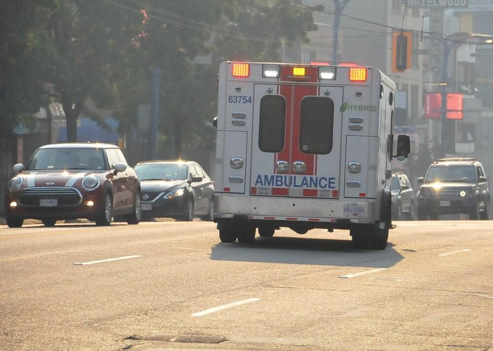 DTES ambulance