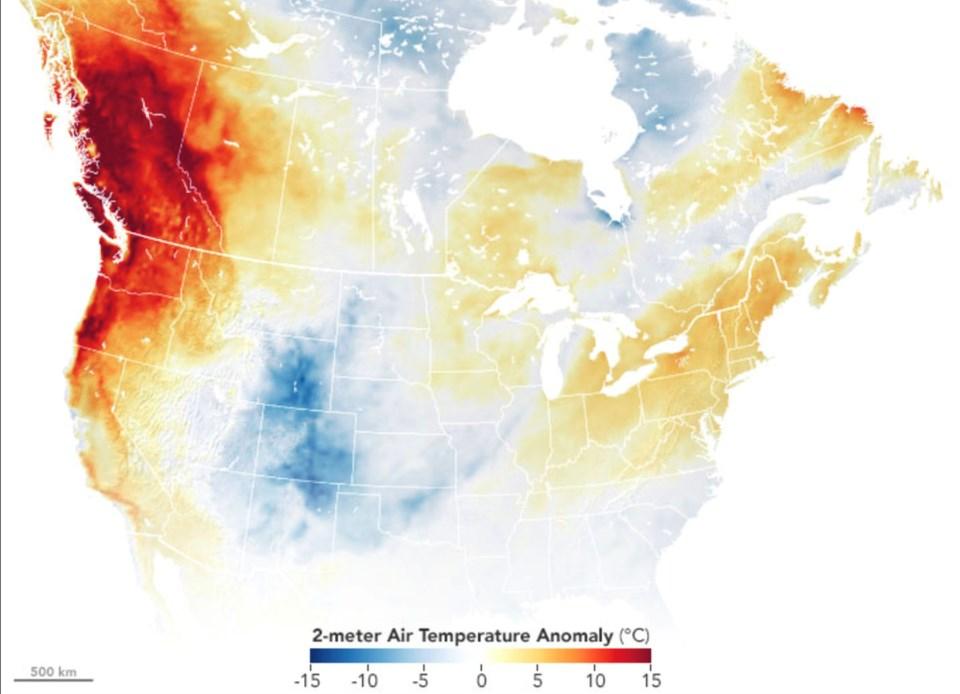 Heat wave 2021
