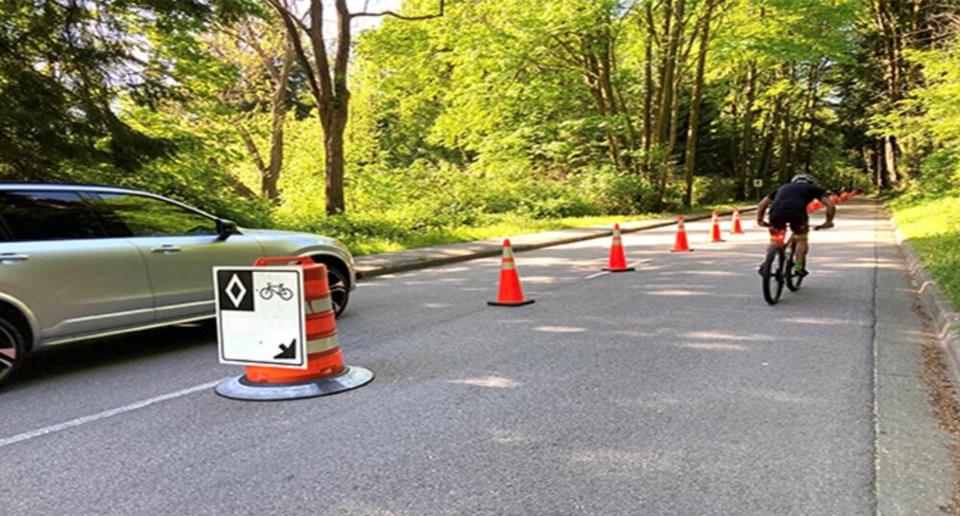 Park Drive bike lane