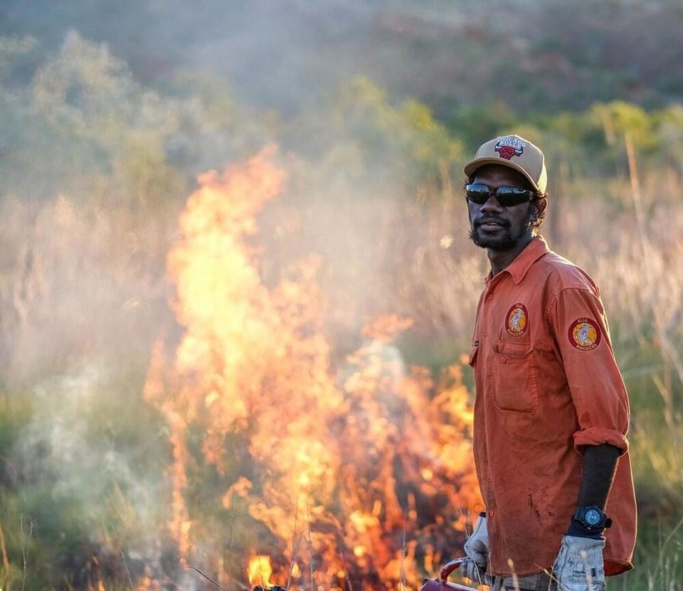 Australia traditional burning