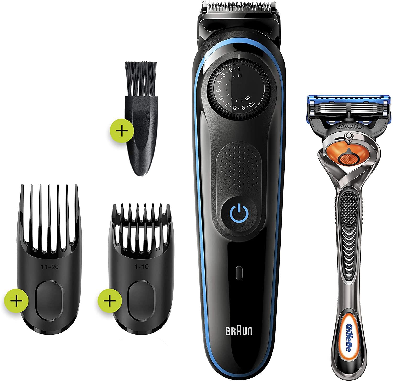Braun shaving set.