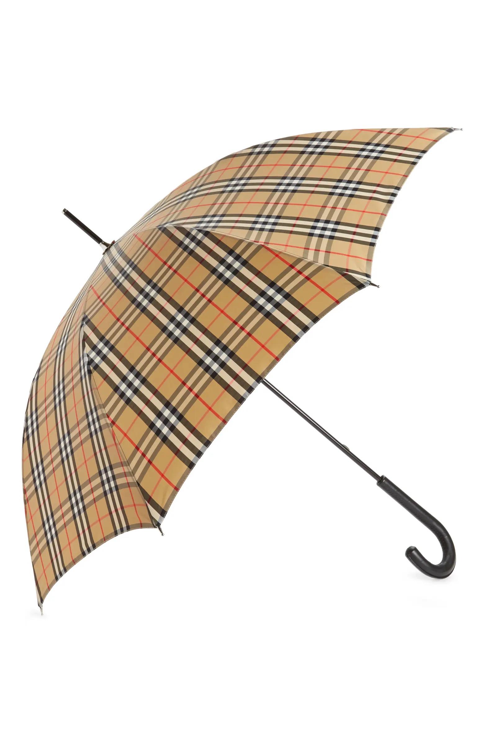 Burberry umbrella.
