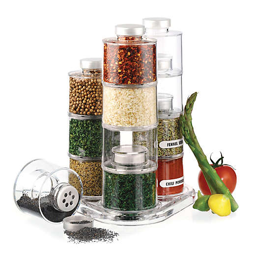 Spice tower carousel.