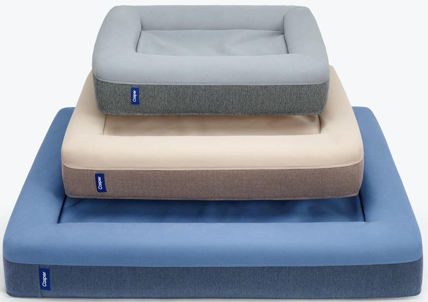 Casper dog beds.