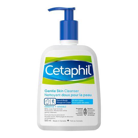 Cetaphil face wash.
