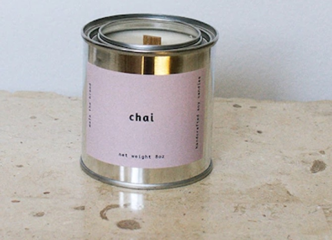 Chai candle.