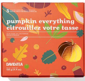 Davids pumpkin tea.