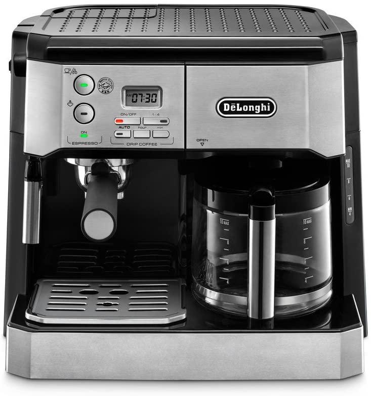 DeLonghi coffee maker.
