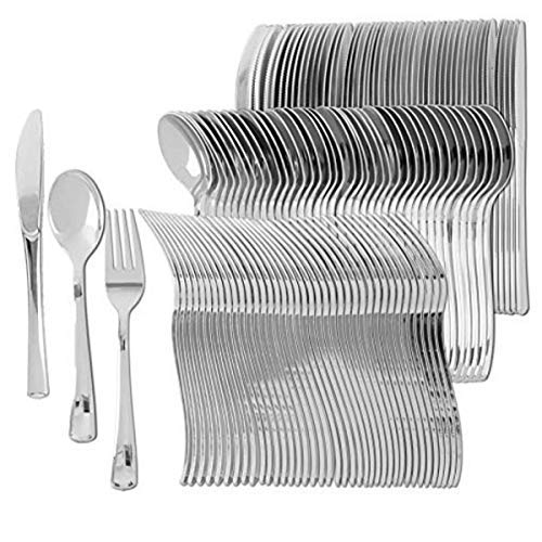 Disposable cutlery set.