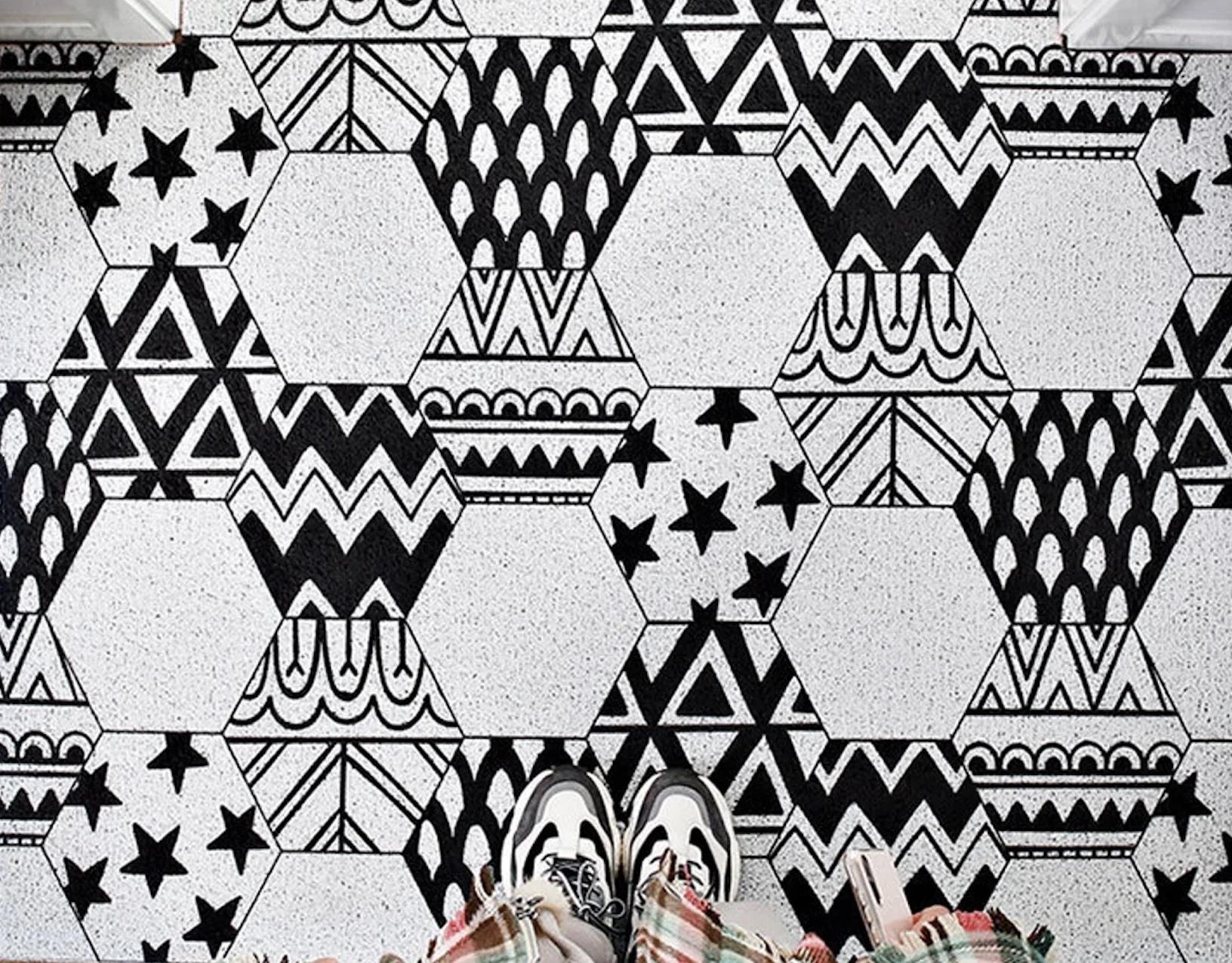 Etsy custom mat.