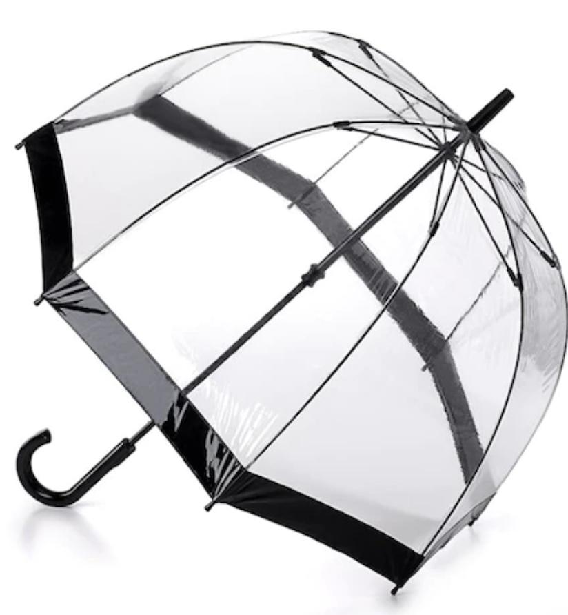 Fulton birdcage umbrella.