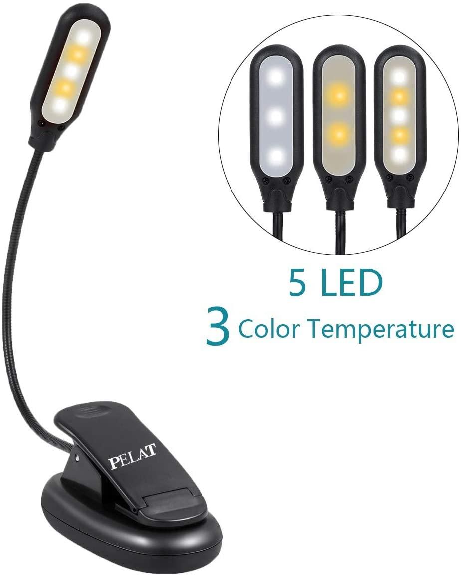 LED clamp light.