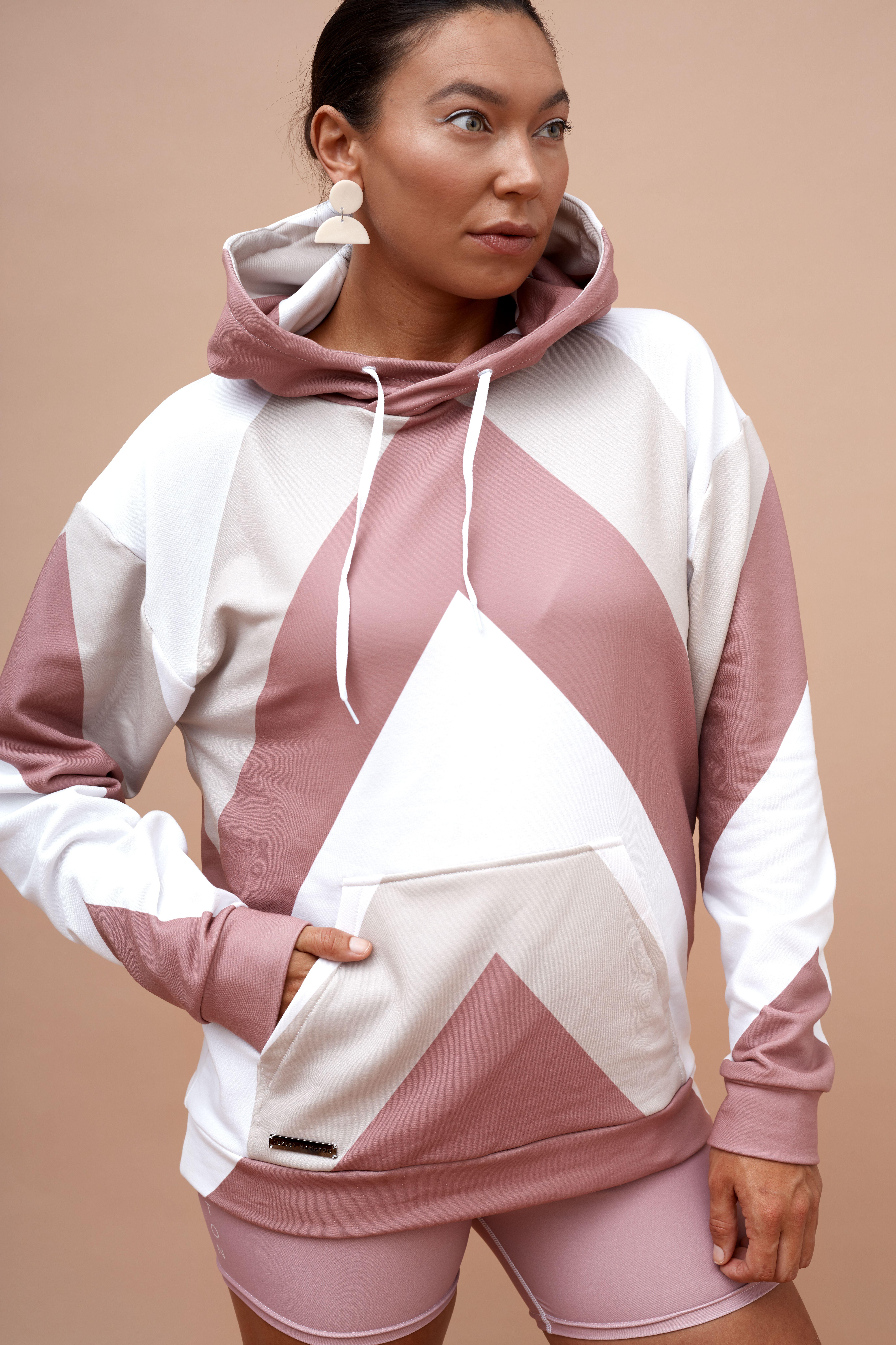 Lesley Hampton hoodie.