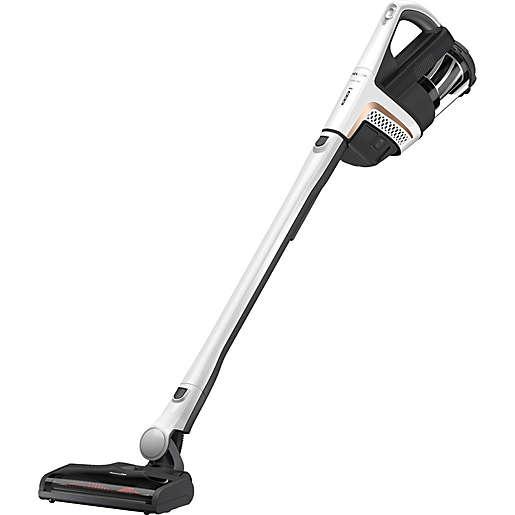 Miele upright vacuum.