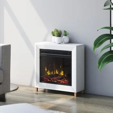 Modern fireplace wayfair.