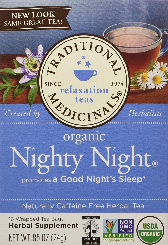 Night night tea.