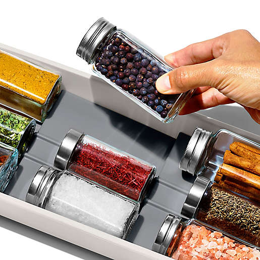 OXO spice drawer.
