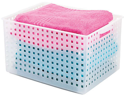 Perforated basket.