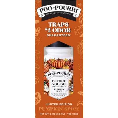 Poo pourri pumpkin.